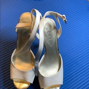 Guess 5 inch high heel shoes